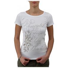T-shirt Donna Costina Bianco L