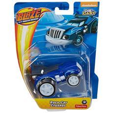 Die Cast Race Car Crusher Blu