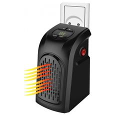 Stufa Elettrica Handy Heater In Ceramica Portatile Con Presa A Muro Potenza 350 Watt