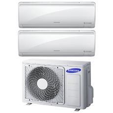 Condizionatore Fisso Dualsplit AJ050/9+12MSFPE Potenza 9000+12000 BTU / H Classe A++ / A+ Inverter