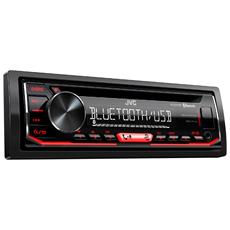 Autor. Cd KD-R794BTE Mp3 Usb Aux BT T / Red