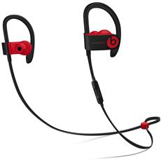 Powerbeats3 Auricolari con Microfono Integrato Wireless Colore Nero / Rosso