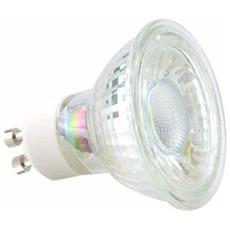 Faretti Led Gu10 5w Smd Spot Light Luce Calda 2700k Illumia I-led Glass