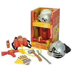 Fire Fighter Henry - Set Pompiere 6 Pz
