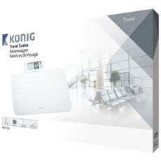 KN-TS10, LCD, Bianco, Quadrato, CR2032, Vetro