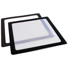 Filtro Antipolvere Magnetico per Ventole da 120 mm Colore Bianco e Nero