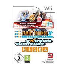 WII - Family Trainer Extreme Challenge