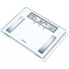 Pesapersone Diagnostiche Bg51Portata massima 200 kg Colore Bianco e Acciaio