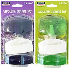 Tavolette Wc Liquida 2 Pezzi Casre5230 Detergenti Casa