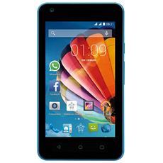 "PhonePad Duo G415 Blu 4 GB Dual Sim Display 4"" Slot Micro SD Android Italia"