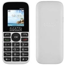 "One Touch 1016D Colore Bianco Dual Sim Display 1.8"" Micro USB"