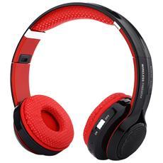 Cuffie Con Auricolari Pieghevoli A Led Bluetooth Respiratori Bluetooth Jkr 208b Da 3,5 Mm