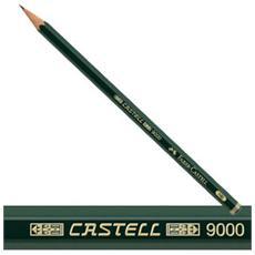 Matita Castell 9000 Colore Verde 12 pezzi