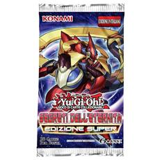 Yu-Gi-Oh! - Segreti Dell'Eternita' (Ed. Super) (3 Bustine+1 Carta Rara)