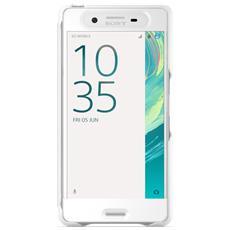 SCR50 Smart Style Cover Touch per Xperia X bianco