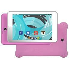 """Tablet Con Custodia Brigmton Btpc-702-r+btac77 7"""""""" Ips 1 Gb Ram 8 Gb Android 5.1 Lollipop Quad Core Silicone Rosa"""