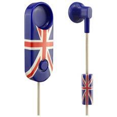 Hd15 Mono Auricolare Bluetooth® Con Filo E Clip Aggancio Magnetico Uk
