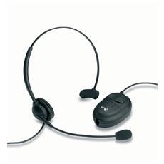 Accord 20, Stereofonico, Nero, Cablato, 130 x 1 x 140 mm, semi-aperto, Telefono