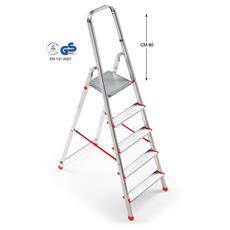 Scala in Alluminio 5 Gradini - Modello Superscala