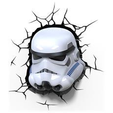 Lampada da Muro 3D Stormtroop. Star Wars