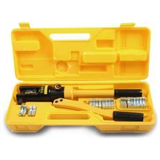 Pinza Idraulica Pressatrice Per Terminali Elettrici Con 12 Inserti Esagonali