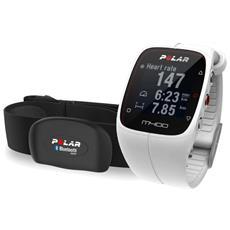 M400 Smart Coaching con GPS Integrato e Attività fisica 24/7 con Sensore di Frequenza - Bianco RICONDIZIONATO
