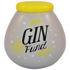 Gin Fund Salvadanaio (taglia Unica) (bianco / giallo)