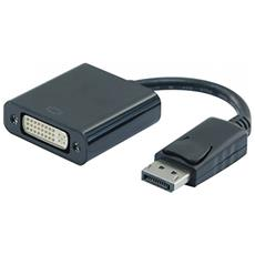 CUC Exertis Connect 127436 DisplayPort DVI-D Nero cavo di interfaccia e adattatore
