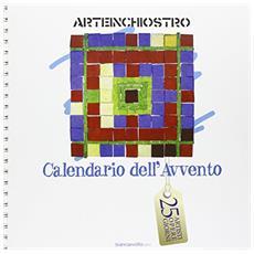 Arteinchiostro. Calendario dell'avvento. 25 artisti, opere, giorni. Con CD-ROM