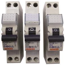 Interruttore Magnetotermico Automatico 1p+N 10a 4,5ka