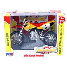 Motocross a 2 Ruote Libere 4 Colori Assortiti