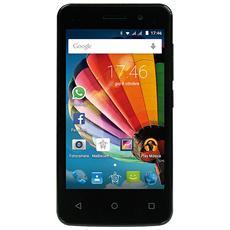 "PhonePad Duo G410 Gold Dual Sim Display 4"" IPS Quad Core Storage 4GB +Slot WiFi Bluetooth 3G Fotocamera 5Mpx Android 5.1- Italia"