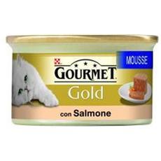 Gatto, Gold Senior Mousse Salmone 85g