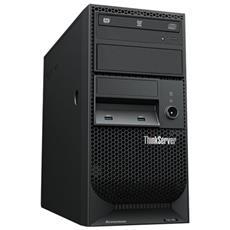 ThinkServer TS150 70UB Processore Intel Xeon E3-1225V6 Quad-Core 3.3 GHz Ram 8 GB Hard Disk 2 x 1 TB Raid 0/1/5/10 No Sistema Operativo