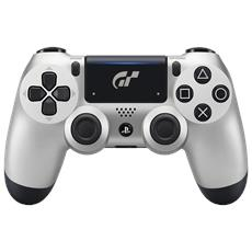 SONY - Controller Dualshock 4 V2 Silver Wireless GT Sport Limited Edition