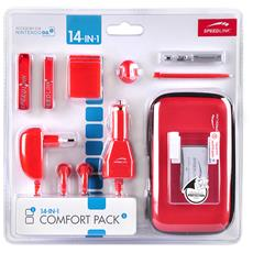 Speed-Link 14-in-1 Comfort pack, Rosso, Cablato