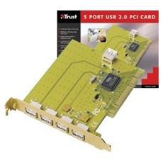 5-port Usb 2.0 Pci Card
