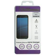 610295, Wiko, Telefono cellulare / smartphone, Trasparente, Vetro temprato, Rainbow (4G)