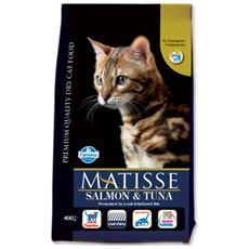 Cibo per gatti Salmone & Tonno 400 gr