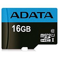 Scheda di Memoria Micro SDXC Capacità 16 GB Classe 10 Velocità 85 MB / s
