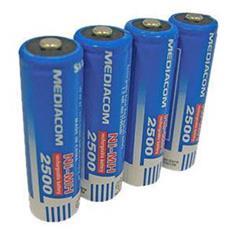 4batterie Ricaric. Aa 2500