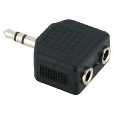 Adattatore Jack 3.5mm 2x Jack 3.5mm M / F