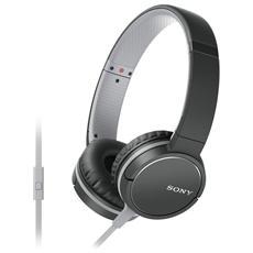 MDR-ZX660AP Cuffia On-Ear Microfono colore Nero