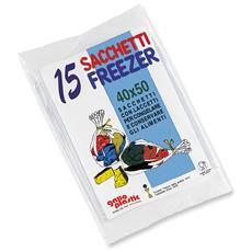 Freezer Busta 40x50 X 15 Pz - Avvolgenti E Sacchetti Alimenti