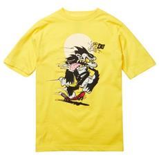 T-shirt Skate Monkey Junior M Giallo