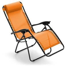Sdraio Grand Relax Arancione - 05387