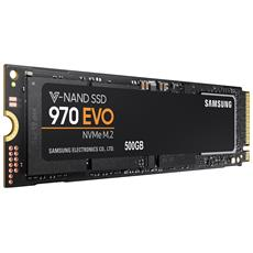 SSD 500 GB Serie 970 EVO M. 2 Interfaccia PCIe NVMe