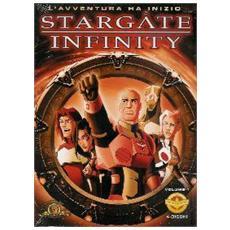 Dvd Stargate Infinity #01 (4 Dvd)