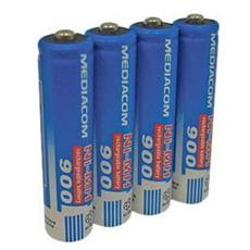 4batterie Ricaric. Aaa 900