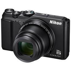 """Coolpix A900 Nero Sensore CMOS 20 Mpx Zoom ottico 35x Display 3"""" Filmati Ultra HD 4K Wi-Fi"""